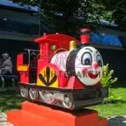 Качалка в форме клоуна паравоза в аренду