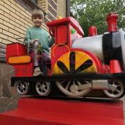 Аренда качалки с паровозом Томас