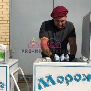 Организуем раздачу мороженного на празднике