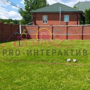 Организация площадки для волейбола на празднике