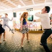 Зона танцев на мероприятии