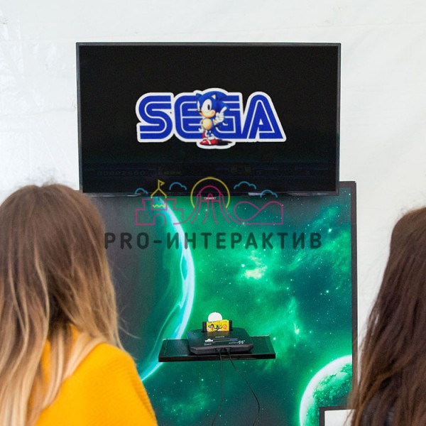 Ретро приставка Sega в аренду на праздник