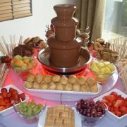 Шоколадный фонтан в аренду на праздник 3 уровня 1