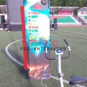 Аттракцион силомер велосипед в аренду на мероприятие