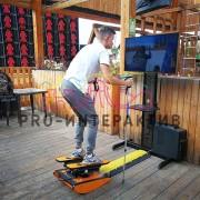 Аттракцион с лыжами в аренду на праздник