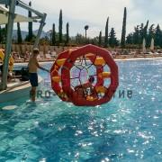 Водное колесо - аттракцион для праздника на водоёме