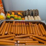 Заказать хот-доги с приготовлением на празднике