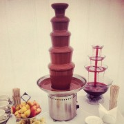 Заказать шоколадный фонтан 5 уровней и фонтан с напитками
