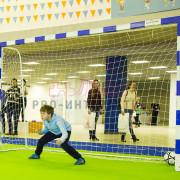 Установка футбольных ворот на мероприятие