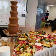 Заказать шоколадный фонтан на праздник