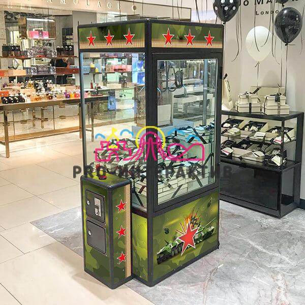 Автомат с игрушками на военный праздник 23 февраля или 9 мая