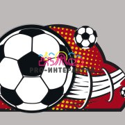 Футбольный шариковый тир
