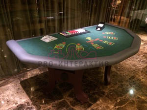 Средний стол для блэкджека