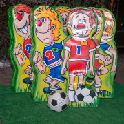 Футбольный боулинг