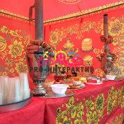 Заказать Чаепитие в русском стиле на праздник масленицу