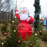 Фигура надувная дед мороз в Москве