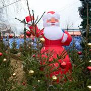 Декорация Дед Мороз на новый год