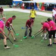 Организация игр в флорбол