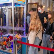Прокат автомата хватайка с игрушками