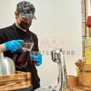 Приготовление кислородного коктейля