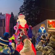 Новогодние пневмофигуры на праздник