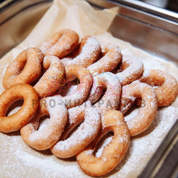 Приготовим пончики на празднике