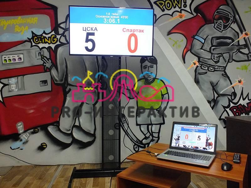 Табло электронное для подсчёта результатов на спортивном мероприятии
