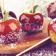 Заказать Яблоки в карамели на корпоратив