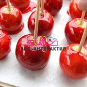 Заказать Яблоки в карамели на мероприятие