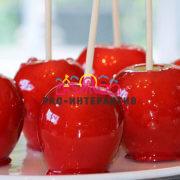 Заказать Яблоки в карамели на 8 марта