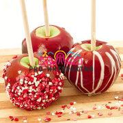 Заказать Яблоки в карамели на праздник
