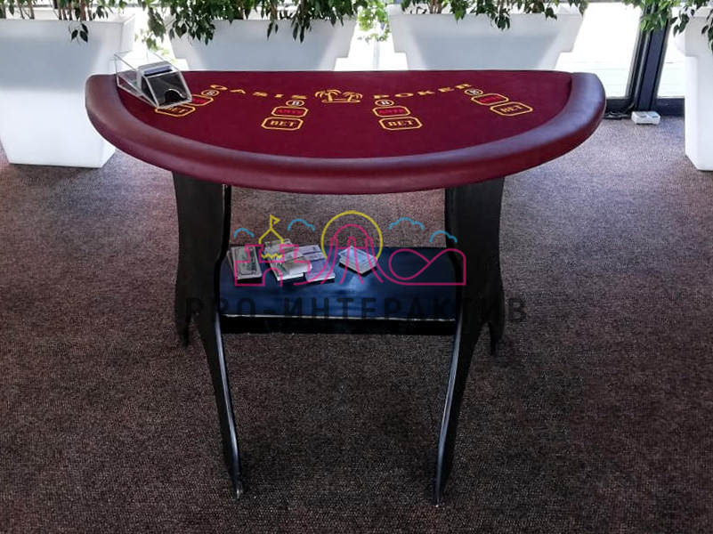 малый стол для блекджека