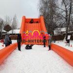 Горка Ледянка в аренду для зимних праздников