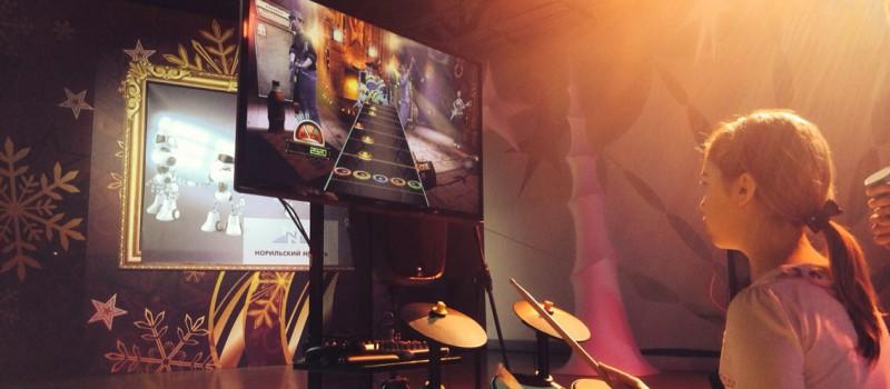 Аренда интерактивной станции Гитар хироу