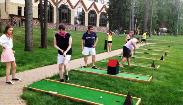 Аренда мини-гольфа на мероприятия