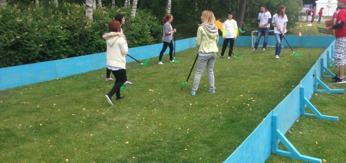 Аренда хоккея на траве на мероприятие