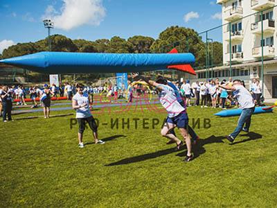 Организация соревнований на спортивном празднике