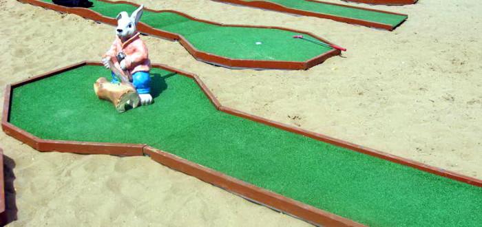Аренда мини-гольфа на меропрития