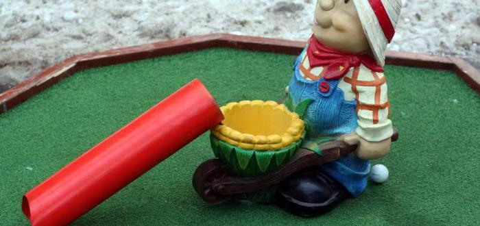 Аренда мини-гольфа для мероприятие