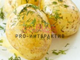Фан-кейтеринг с горячей картошкой