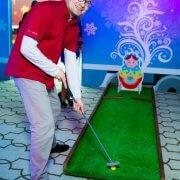 Ярмарочный гольф на тематический праздник