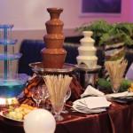 фан-кейтеринг: шоколадный фонтан 110 см