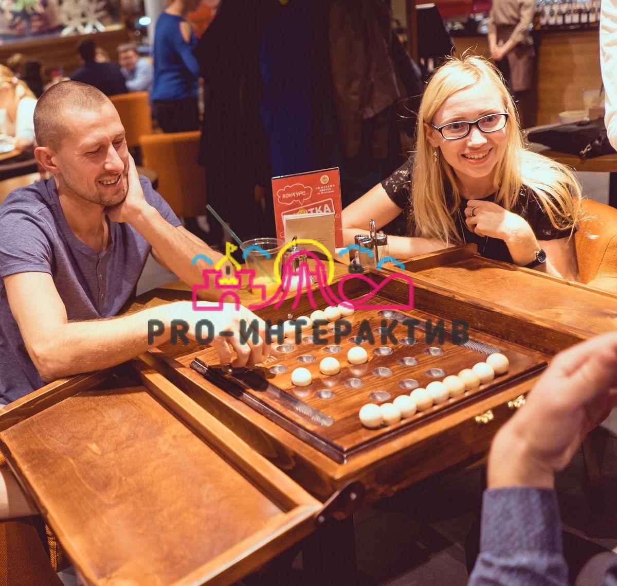 Аренда деревянной игротеки на праздник