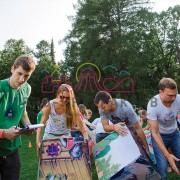 Аттракцион для советской вечеринки