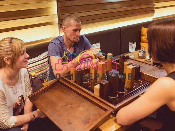 Прокат настольных деревянных игр