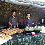 Военная чайная станция в аренду на праздник