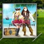 Пиратская фотозона с тантамареской
