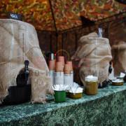 Заказать чайную станцию в военном стиле