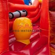 Батут в форме пиратского корабля на праздник для детей и взрослых