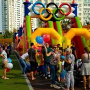 Организация праздника в стиле олимпийских игр